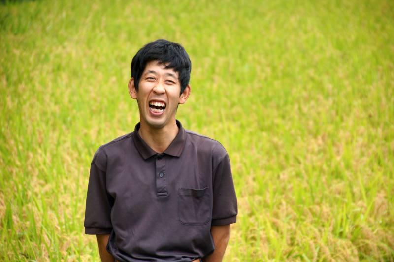 お米農家の佐宗さん