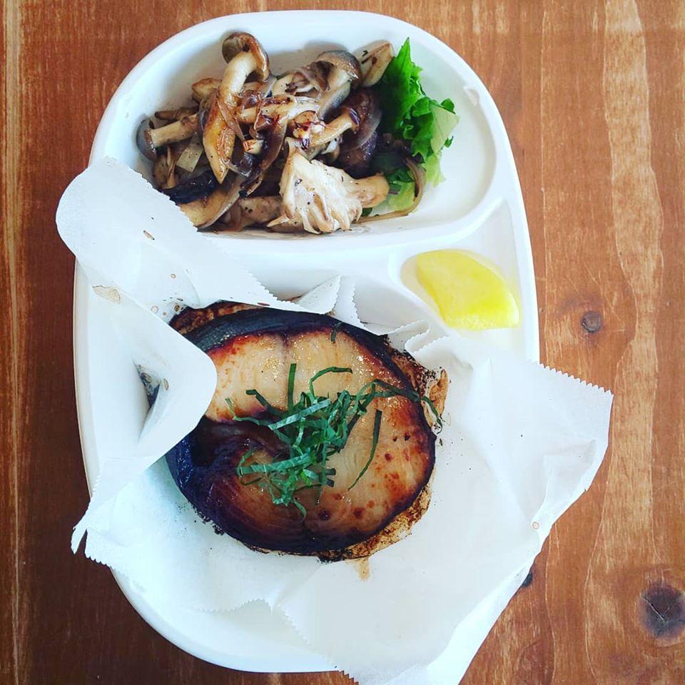 銀鱈の西京漬け焼き弁当