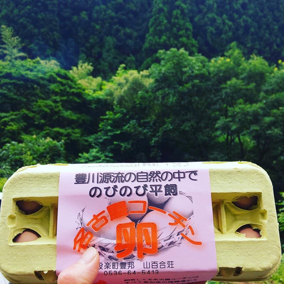 名古屋コーチンの卵